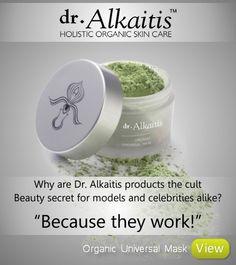 Dr Alkaitis Organic Universal Mask www.kloodos.com