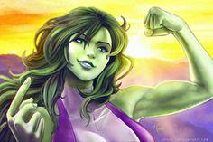 She Hulk by Adyon on @DeviantArt