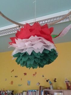 Independence Day Decoration, Independence Day Special, Indian Independence Day, Diy And Crafts, Arts And Crafts, Baseball Party, Republic Day, Flower Art, Origami