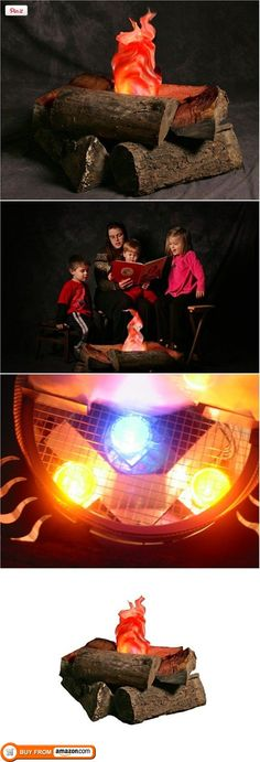 Imitation Fake Campfire For Those Indoor Camp Outs Made