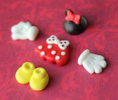 fondant toppers for decorating your cookies, cupcakes and/other creations