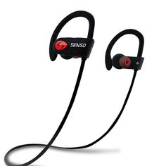 When you-re working out, you want your earbuds to stay in. That-s exactly what these do, with a level of comfort that keeps your focus solely on your workout. The tips- unique shape creates a gentle seal in your ear, which helps improv. Made from Top Quality material. JVC JVC HAET103BTB Wireless Fitness Bluetooth Headphones, Black   PETRA25122 Best Workout Headphones, Wireless Headphones With Mic, Waterproof Headphones, Best Noise Cancelling Earbuds, Cool Tech Gifts, Spy Gadgets, Fun Workouts, Running, Gadget Gifts