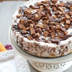Moose Tracks Ice Cream Cake! Heaven!!!
