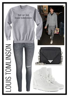 """Couple With Louis Tomlinson"" by stella-patricia ❤ liked on Polyvore featuring MICHAEL Michael Kors and Alexander Wang"