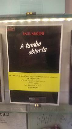 """A tumba abierta""  de Raúl Argemí. Navona"