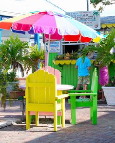 Port Lucaya Marketplace, Grand Bahamas~ very colorful