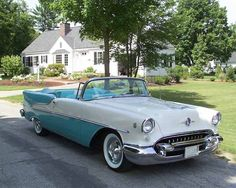 1955 Oldsmobile Rocket 88 convertible
