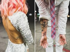 Hipster+Couple+Get+Married+And+Create+The+Most+Badass+Wedding+Photos+Ever