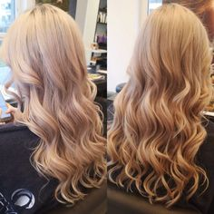 Blond hair with curls Trends, Curled Hairstyles, Blonde Hair, Curls, Long Hair Styles, Beauty, Shaving Machine, Barber Salon, Hair Stylists