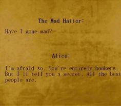 Love Alice in Wonderland!