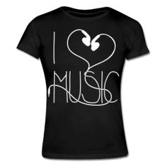 I Love Music Women´s T-Shirt