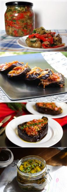 Самые вкусные баклажаны на зиму - рецепты приготовления