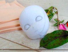 DIY Cara de muñeca en 3D - Patrones gratis