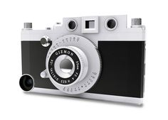 the 'gizmon iCa' polycarbonate case transforms your smartphone into a working  rangefinder camera