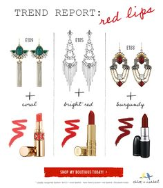 My tips on how to pick the right shade of red lipstick.