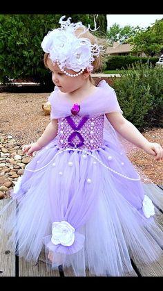 Sofia the First Princess Tutu Dress