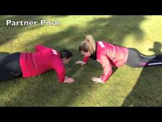 60 bootcamp bodyweight partner exercise ideas. - YouTube