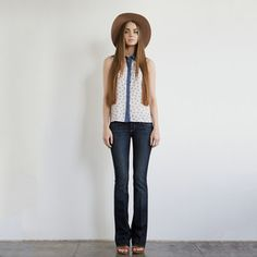 Desert Voyage Button Up Top, $65, now featured on Fab.