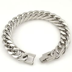 2016 New Men Bracelet Silver/Gold/Black Stainless Steel Bracelet & Bangle Male Accessory Hip Hop Party Rock Jewelry AB715-in Chain & Link Bracelets from Jewelry & Accessories on Aliexpress.com | Alibaba Group