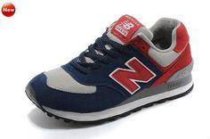 New Balance US574M1 Femme Captain America The Winter Soldier Lovers édition Feu Rouge Noir chaussures de sport