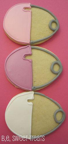 Baby pin cookies