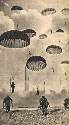 WW2 - German paratroopers