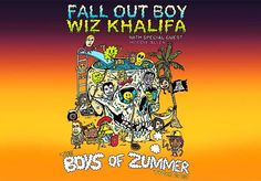 WIZ KHALIFA & FALL OUT BOY SET TO EMBARK ON MASSIVE BOYS OF ZUMMER TOUR