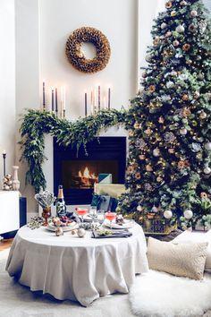Inspiração do dia: cantinho natalino com clima descontraído