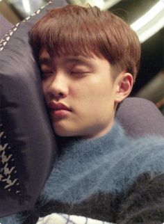 I couldn't help but imagine a Kyungsoo in his penguin pajamas while cuddling under the soft sheets as soft snores can be heard by the latter >< Kaisoo, Kyungsoo, Chanbaek, Exo Ot9, Kpop Exo, Park Chanyeol, Exo Korean, Do Kyung Soo, Wattpad