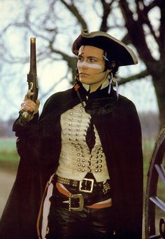 Adam Ant....he's like johnny depp meets marie antionette
