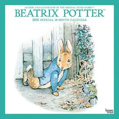 Beatrix Potter 2016 Wall Calendar | $14.99 | Come in and enjoy the world of Beatrix Potter! This calendar features some of Potter's most famous and adored furry friends such as Peter Rabbit, Squirrel Nutkin, and Mrs. Tiggy-Winkle, and is a perfect way to introduce a young friend to these timeless tales. BrownTrout is committed to sustainability.