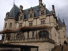 The Biltmore Mansion in Asheville, NC.  Photo by Christopher Chalkley