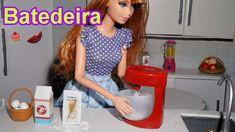 Como fazer uma batedeira para boneca Barbie, Monster High, Frozen e outras