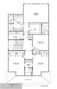 house plan 2nd floor