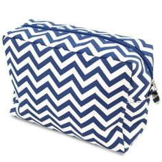 awesome Cathy's Concepts Chevron Spa Bag, Navy - For Sale Check more at http://shipperscentral.com/wp/product/cathys-concepts-chevron-spa-bag-navy-for-sale/