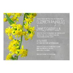 See MoreSolidago Wedding Invitations Invitationsyou will get best price offer lowest prices or diccount coupone