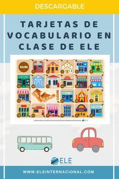Periodic Table, Diagram, Montessori, Spanish, Fields, Vocabulary Games, Spanish Vocabulary, Learn Spanish, Vocabulary Activities