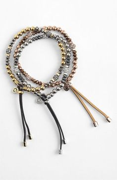Michael Kors 'Brilliance' Stretch Bracelet available at #Nordstrom
