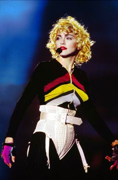 Madonna, Blonde Ambition tour! Beautiful!