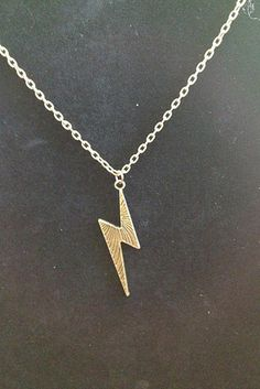 Lightning Bolt Earrings And Necklace Set, $7.87 | 56 Totally Wearable Harry Potter-Themed Accessories