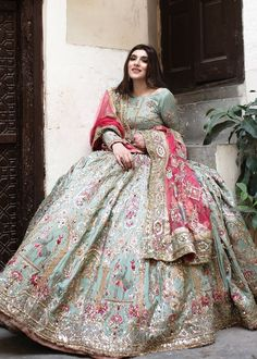 Chat with fashion consultant Name Email Phone Number Message Latest Bridal Dresses, Bridal Mehndi Dresses, Nikkah Dress, Pakistani Formal Dresses, Wedding Dresses For Girls, Indian Wedding Outfits, Pakistani Dress Design, Bridal Outfits, Indian Outfits