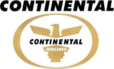 Continental Airlines - Logopedia, the logo and branding site, Continental Airlines Airline Logo, Best Airlines, Journey Tour, Come Fly With Me, Best Travel Deals, Travel Logo, Aircraft Design, Logo Google, Logo Sticker