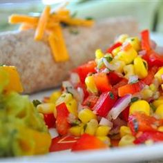 Southwestern Roasted Corn Salad Allrecipes.com
