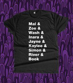 Firefly Lineup Shirt. I NEED IT!!