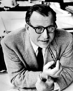 Eero Saarinen, architect, was born in Finland and grew up in the US. His designs include the main terminal of IAD and the Gateway Arch in St. Louis, Missouri.