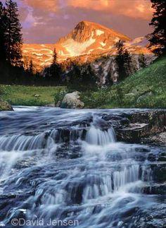 Lostine River in Oregon.