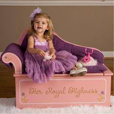 Mini Princess-sized bench seat (with storage!)