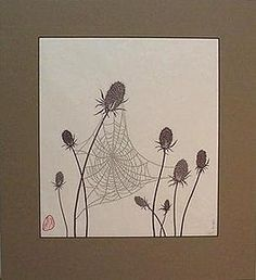 PAPER CUT-OUT OF A SPIDER WEB - Pi-Ping Savage