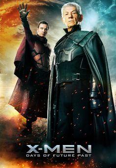 """Confiram os novos cartazes do filme """"X-Men: Dias de um Futuro Esquecido"""" http://cinemabh.com/imagens/confiram-os-novos-cartazes-do-filme-x-men-dias-de-um-futuro-esquecido"""