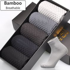 Cheap men bamboo fiber socks, Buy Quality mens long socks directly from China bamboo fiber socks Suppliers: Men Bamboo Fiber Socks Brand New Casual Business Anti-Bacterial Deodorant Breatheable Man Long Sock / lot Go For It, Just For You, Bamboo Socks, Work Socks, Fibre Material, Dress Socks, Women's Summer Fashion, Man Fashion, Fashion Menswear